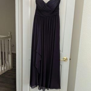 Bill Levkoff sweetheart neckline bridesmaid dress